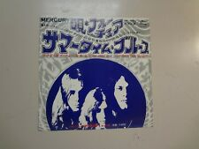 """BLUE CHEER: Summertime Blues-Out Of Focus-Japan 7"""" 68 Mercury SM-1045 Stereo PSL"""