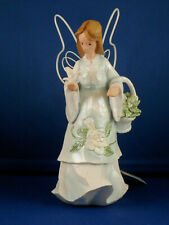"Magnolia Angel with Dove - ""Friendship"" - 7 1/2"" high"