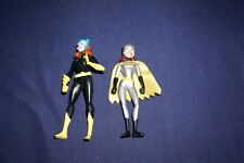 BATMAN ANIMATED SERIES LOT OF 2 BATGIRL ACTON FIGURES 1992 KENNER