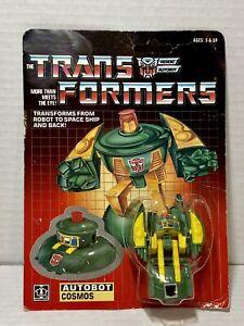 VINTAGE G1 TRANSFORMERS - Cosmos - 1985 - Autobot Hasbro Bradley Inc. NEW SEALED