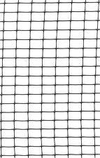 Geflügelnetz schwarz (1mx25m) Geflügelzaun Hühnernetz für Tiergehege