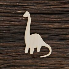 Wooden Dinosaur Shape for Crafts and Decoration - Laser Cut - Dinosaur Decor