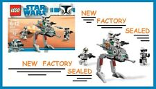 Lego 8014 STAR WARS Clone Walker army Commander minifig rare Battle Pack NEW lot