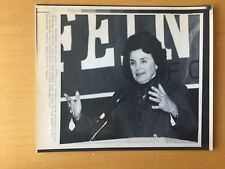 WOMAN POLITICS: AP News Service Wire Photos of Diane Feinstein Runs for Governor