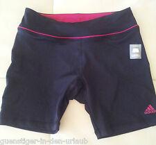 Adidas Damen Sporthose Fitnesshose Tight Sport Hose S schwarz / pink NEU