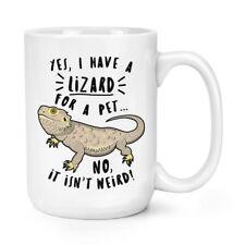 sí I Tienen un lagarto para Un Pet 426ml Mighty Taza - Divertido Animal