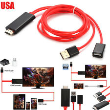 MHL USB to HDMI TV AV Cable Adapter for iPhone 5 5C 5S 6 6plus 6S plus 7 7S plus