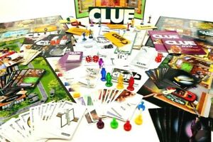 CLUE Board Game Pieces Parts Replacements MOVERS CARDS WEAPONS DICE