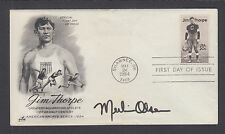 Merlin Olsen,  American football player, announcer, and actor. Signed FDC