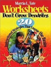 Worksheets Don't Grow Dendrites : 20  Strategies That Engage the Brain