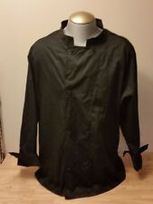 Chef Revival Crew Jacket Coat Black Button Long Sleeve 2XL XXL