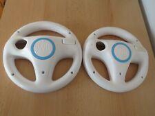 2 x Official Nintendo Wii Steering Mario Kart Wheel