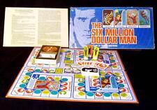Vintage 6 Six Million Dollar Man Steve Austin 1975 Parker Brothers Board Game GS