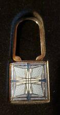 New listing RARE Frank Lloyd Wright Abstract Petal Art Glass Design Keychain MMA