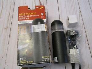 Y Malibu Low Voltage Landscape Lighting Black Finish Metal Garden Light CL635R