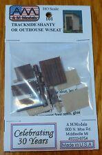 "AM Models HO #101 Trackside Shanty -- 5/8 x 3/4"" 1.5 x 2cm (Kit Form)"