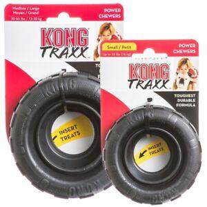 KONG¹Extreme TRAXX jouet chien pneu macher friandises small ou Medium/Large