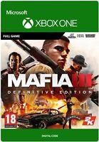 MAFIA III 3 DEFINITIVE EDITION XBOX ONE FULL GAME KEY
