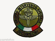 G.I.S. Incursori Carabinieri Bandiera GIS Patch Mimetica Vegetata Italiana