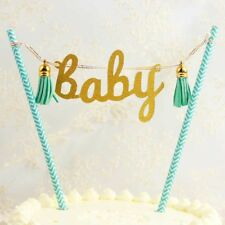 Cake Cupcake Topper Banner Bunting For Birthday Party Boy Girl Baby Shower