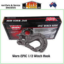Warn Epic 1/2 Winch Hook Low High Mount Clevis