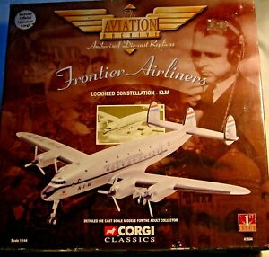 "Corgi Aviation Archive 47504. Lockheed Constellation. ""Flying Dutchman"". M/Boxed"