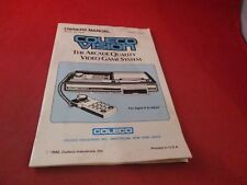 Coleco Vision System Console Owners Instruction Manual Booklet ONLY Colecovision