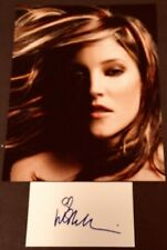 "Lisa Marie Presley ""Daughter Of Elvis"" Autograph 3X5 Card & Photo COA"