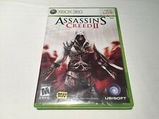 Assassin's Creed II (Microsoft Xbox 360) Original Release Complete Excellent!