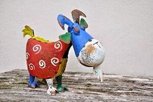 Bertie the Goat Metal Garden Ornament Sculpture