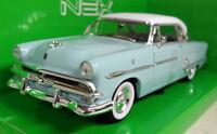 Nex models 1/24 Scale 1953 Ford Crestline Victoria light blue Diecast model car