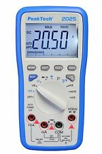 PeakTech 2025 Digital USB Multimeter Messgerät Meter Messer Digitalmultimeter