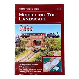 Modelling the Landscape No.13 Model Railway Book Plus 10 Railway Modeller DVDs