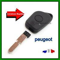 Coque Télécommande Plip Bouton Clé Pour Peugeot 406 407 605 607 + Lame vierge