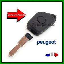 Coque Télécommande Plip Bouton Clé Peugeot 406 407 605 607 + Lame vierge