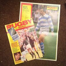 RUGBY WORLD MAGAZINE JULY 1986 - Super Condition Also Contains Poster
