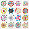 DIY Craft Mandala Auxiliary Layering Stencils Scrapbooking Stamp Decor Template