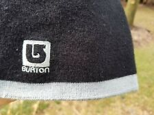 Burton Mens Winter Hat Beanie Snowboarding Ski Cap Black one size
