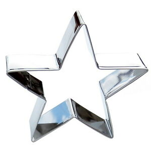 Star Cookie Cutter- Stainless Steel