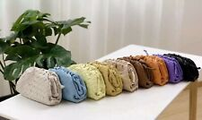 The Pouch Bag Clutches Lambskin Woven Shoulder Crossbody Cloud Purse For Women