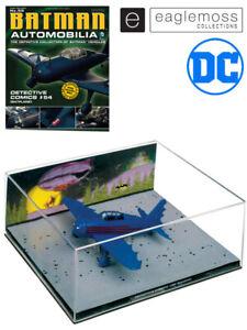 Eaglemoss Batman Issue #59 Automobilia Batplane 1:43 Scale Replica New In Stock