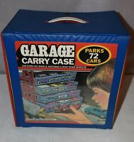 Vintage 1984 Tara Toy Corp Garage Carry Case--Holds 72 Vehicles
