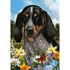 Summer House Flag - Bluetick Coonhound 18193