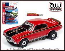 Auto World ~ '71 Buick Gsx Muscle Cars ~ New in Clam Pack ~ Fits Aw, Afx