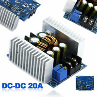 1pc DC-DC Converter 20A 300W Step Up&Down Boost Power Supply Module Charger NEW