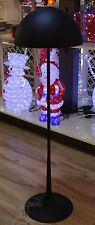 Liam Forma De Hongo negro metal lámpara de pie redondo Oficina 2x E27 A. F. LED