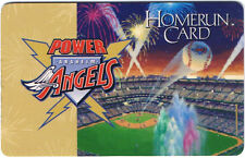 Anaheim Angels Power Angels Program Member Homerun Card Loyalty Baseball Sports