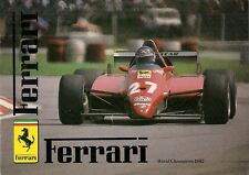 Ferrari 1982-83 UK Market Sales Brochure 308 GTB GTS Mondial QV 400i BB 512