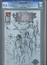 Hunter-Killer #0 CGC 9.6 WW Texas sketch variant