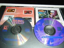 Star Wars X-Wing Coleccionistas Doble Cd-Rom Bonus Sw Rebel Asalto Vgc
